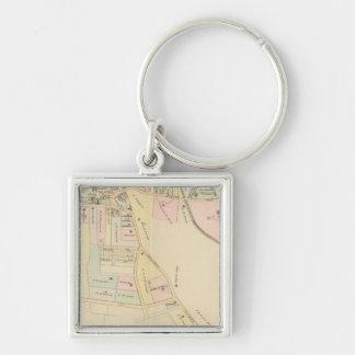 Rye, Cottage Park, New York Key Ring