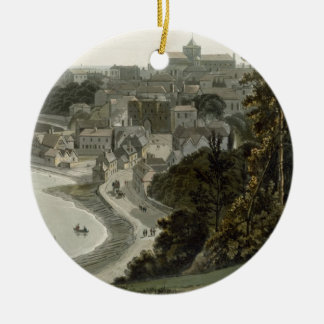 Rye, East Sussex, from 'A Voyage Around Great Brit Christmas Ornament