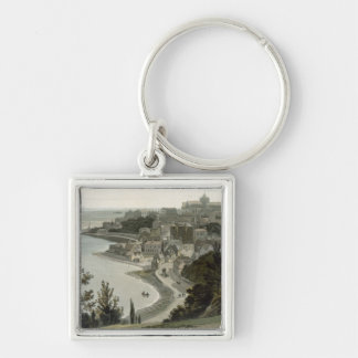 Rye, East Sussex, from 'A Voyage Around Great Brit Key Ring