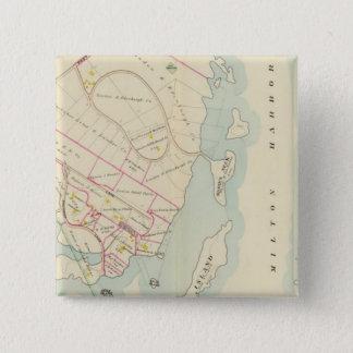Rye, New York 15 Cm Square Badge