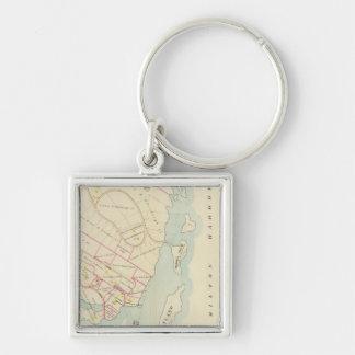Rye, New York Key Ring