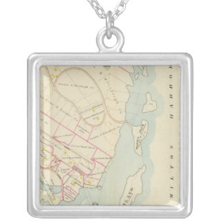 Rye, New York Silver Plated Necklace
