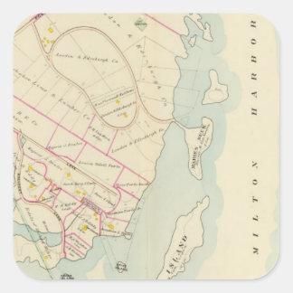 Rye, New York Square Sticker