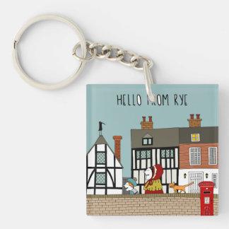 Rye Street Key Ring