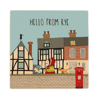 Rye Street Wood Coaster
