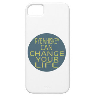 Rye Whiskey Can Change Your Life iPhone 5/5S Cases