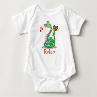 RYLAN baby name gifts personalized Baby Bodysuit