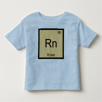 Rylan Name Chemistry Element Periodic Table Toddler T-Shirt