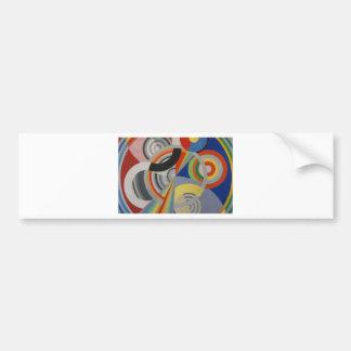 Rythm by Robert Delaunay Bumper Sticker