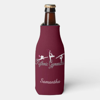 Rythmic Gymnast personalized bottle cooler