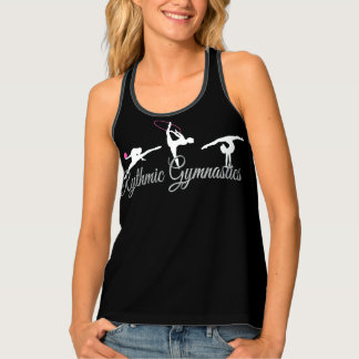 Rythmic Gymnastics all over print tank top