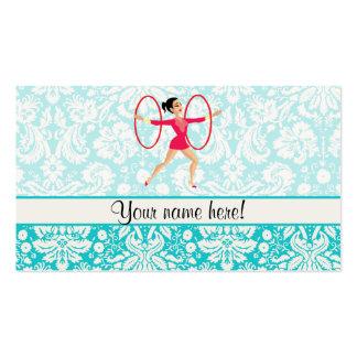 Rythmic Gymnastics Hoops Pack Of Standard Business Cards