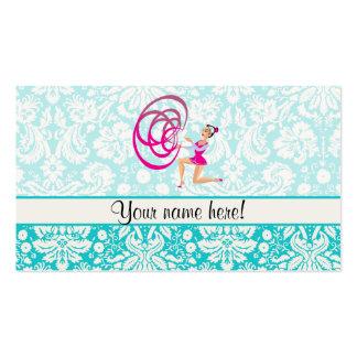 Rythmic Gymnastics Ribbon Pack Of Standard Business Cards