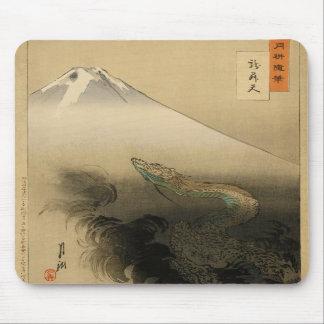Ryu Sho Ten Dragon Rising to Heaven by Ogata Gekko Mousepad
