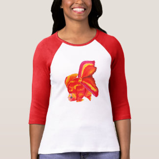 Ryukin Goldfish design T-shirt