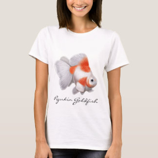 Ryukin Goldfish Ladies Baby Doll Shirt