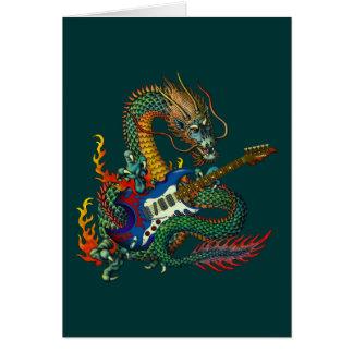 Ryuu Guitar 05 Greeting Card