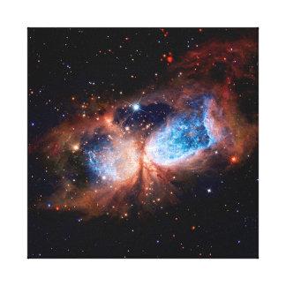 S106 Star Forming Region in Cygnus Canvas Prints