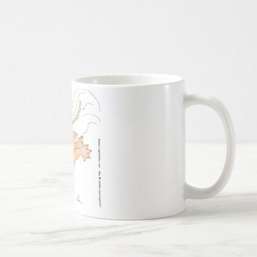 s11 Cat Pouncing on Hanukkah Dradle Coffee Mug