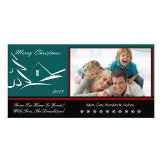 S2 Simple Beauty-Pine XMAS Photo Cards