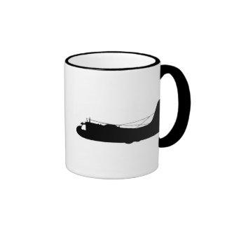 S2-Tracker Silhouette Ringer Coffee Mug
