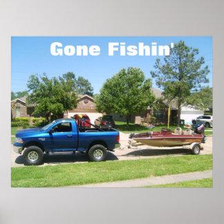 S5001540, Gone Fishin' Poster