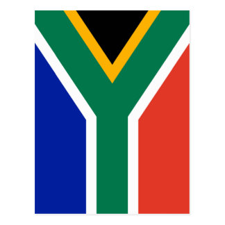 S Africa Flag The MUSEUM Zazzle I Love MY Country Postcard