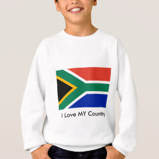 S Africa Flag The MUSEUM Zazzle I Love MY Country Sweatshirt