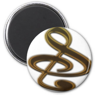 S And Or Treble Clef Musical Note Fridge Magnets