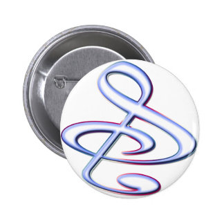 S And Or Treble Clef Musical Note Pins