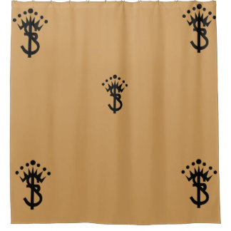 S.B. new logo Shower Curtain