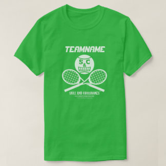 Tennis team t shirts shirt designs zazzle uk for Zazzle t shirt template