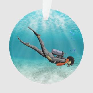 S.C.U.B.A. Diver Ornament