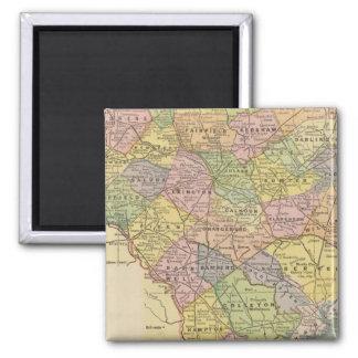 S Carolina Square Magnet