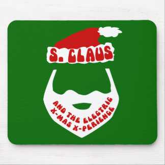 S. Claus and the Electric X-Mas X-Perience Mouse Pad