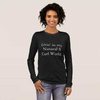 S Curl World Long-Sleeved T-shirt