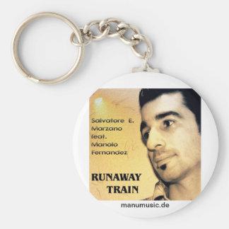S E Marzano feat M Fernandez - Runaway Train Keychain