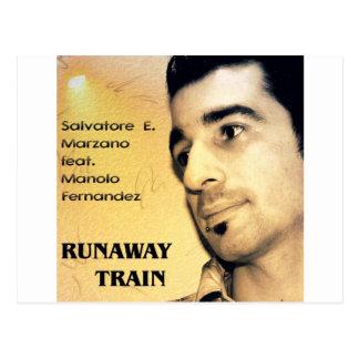 S E Marzano feat M Fernandez - Runaway Train Post Cards