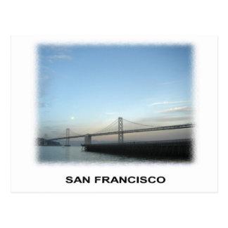 S.F. Bay bridge Postcard