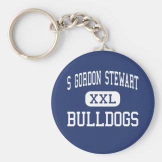 S Gordon Stewart Bulldogs Fort Defiance Key Ring