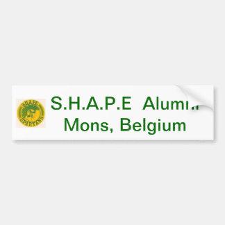 S.H.A.P.E Alumni bumper sticker Car Bumper Sticker