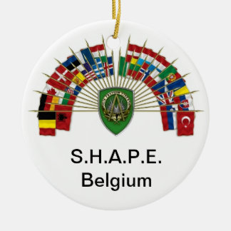 S.H.A.P.E. Belgium Ornament