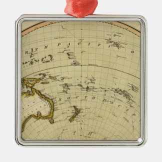 S Hemisphere, plane of London Christmas Ornament