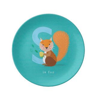S is for... plate