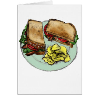 S is for Sandwich Card