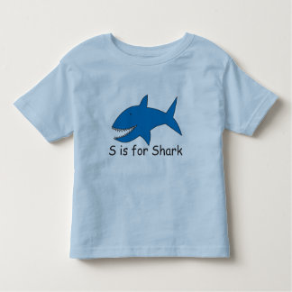 S is for Shark T-Shirt