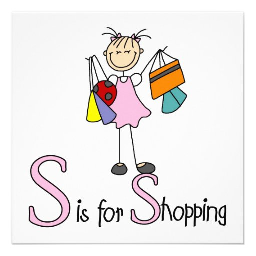 S is for Shopping Invitations