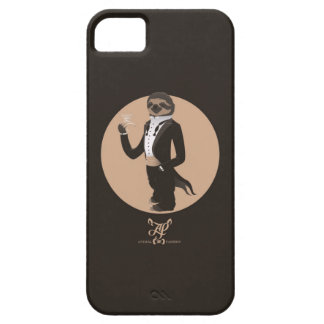 S is for Sloth in a Smoking iPhone 5 Cover