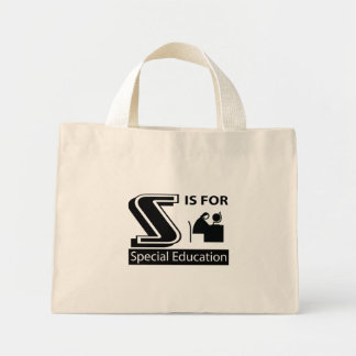 S Is For Special Education Canvas Bag