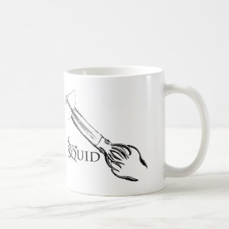 S is for Squid mug